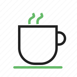 black coffee, caffeine, coffee, cup, drink, mug, steam icon