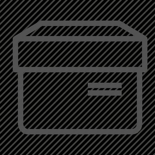 box, description, moving, stuff, tag icon