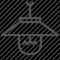 appliance, bulb, home, house, light icon