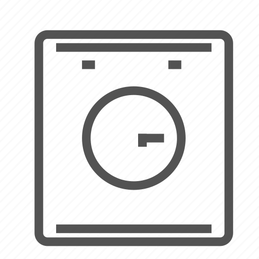 appliance, clothes, equipment, home, house, washer icon