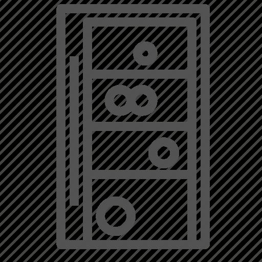 appliance, fridge, refrigerator, wine icon
