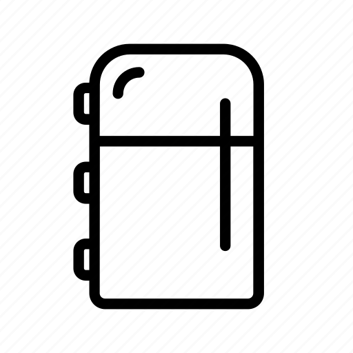 condenser, fridge, household, refrigerator icon