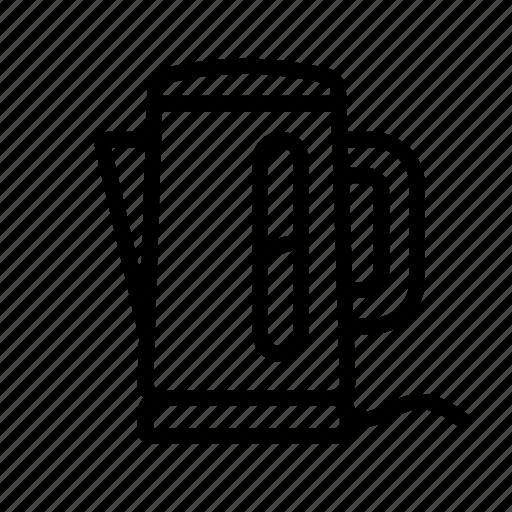 boiler, electric kettle, household, kettle, teapot icon