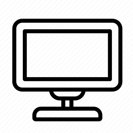 household, television, tv, tv set icon