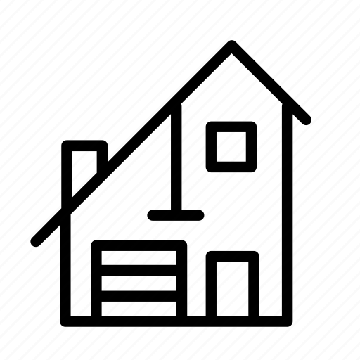 building, estate, home, house, household icon