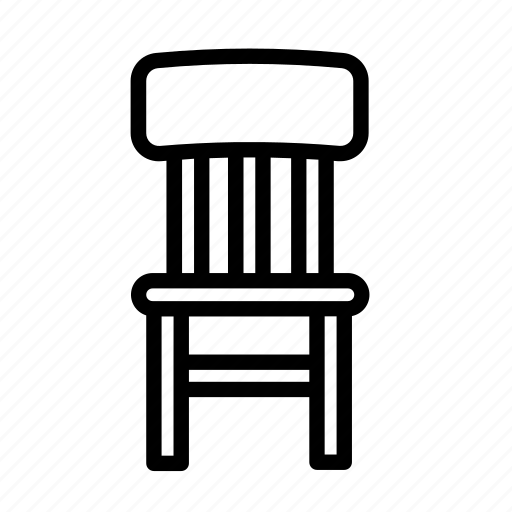 chair, furniture, household icon