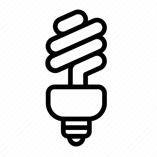 bulb, household, lamp, light, light bulb icon