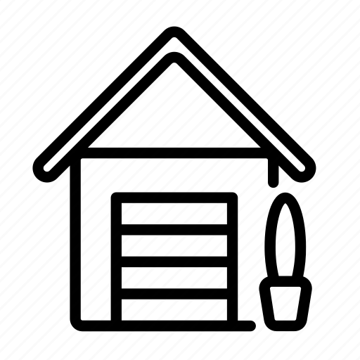 car, garage, house, household, shed, vehicle icon