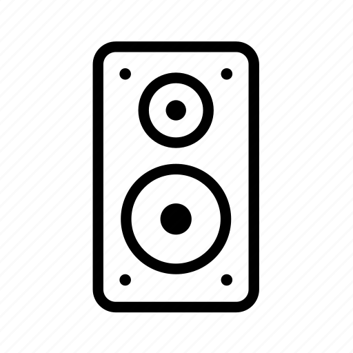 audio, household, louder, music, speaker icon