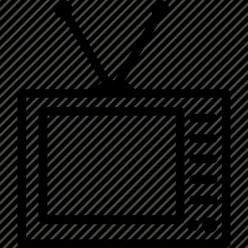 entertainment, movie, screen, television, tv icon