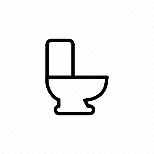 bathroom, clean, clean bathroom, cleanbathroom, house job, outline, toilet icon