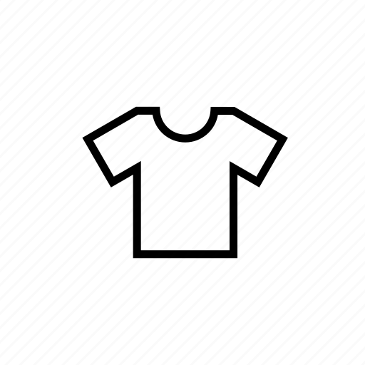 cloth, house job, housekeeping, laundry, laundry01, outline, shirt icon