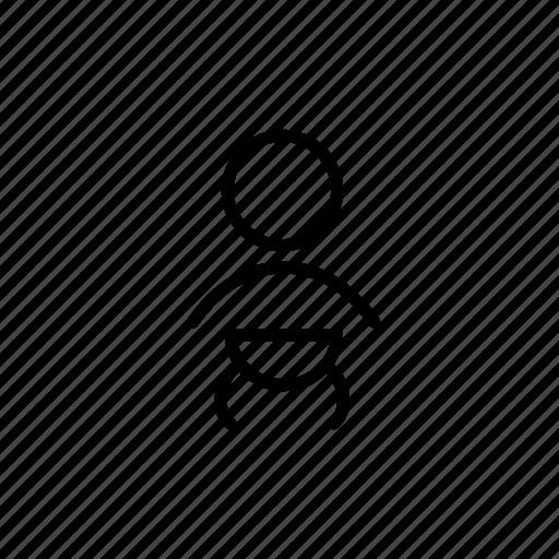 baby, babysitter, childcare, infant, nanny, nanny02, outline icon