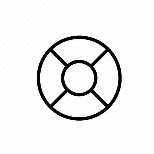 Care, help, lifebuoy, outline, service, support icon - Download on Iconfinder