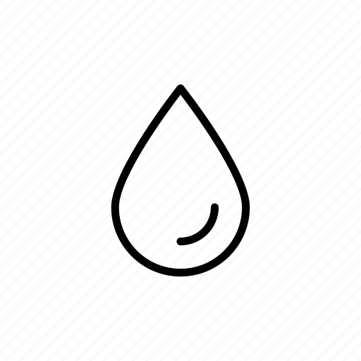 clean, drip, outline, pouring, wash, water icon