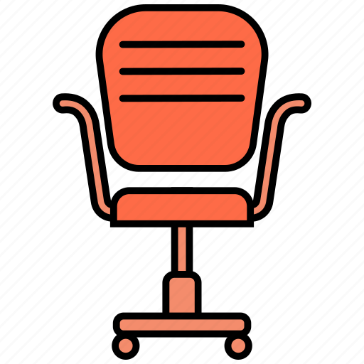 chair, office, seat icon icon