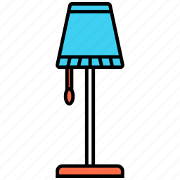 lamp, light, stand icon icon