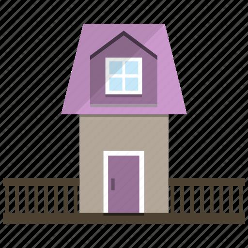 cottage, house, little, village icon