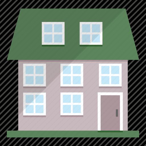 estate, house, life, neighbour icon