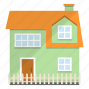 building, estate, home, neighbor icon