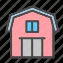 depositary, depository, depot, storehouse, warehouse icon