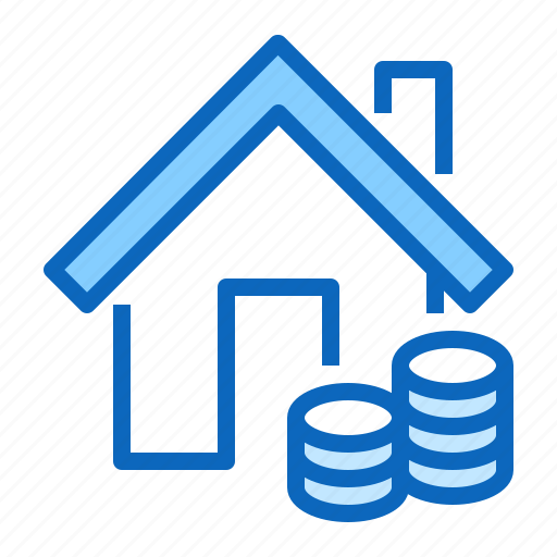 home, house, mortgage, rent, sale icon