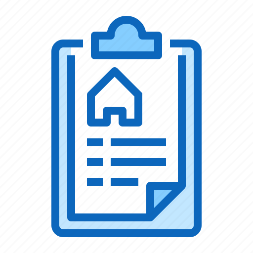 estate, home, house, mortgage, real, rent icon