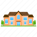 house style, residence, cornish cottage, cottage house, cottages icon