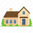 historical architecture, house exterior, house model, italianate house, residential building icon