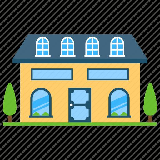 Houses Exterior By Vectors Market