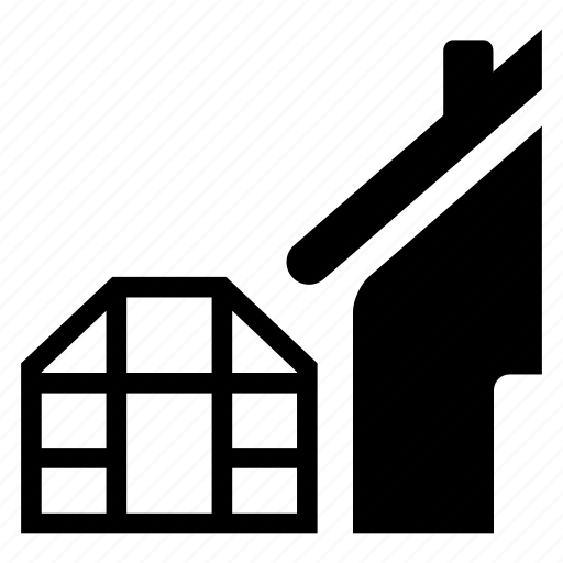 annexes, domestic, household, storage, warehouse icon
