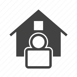 agent, construction, estate, house, investment, office, real icon