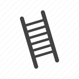 climb, climbing, ladder, success, tall, wood, wooden icon