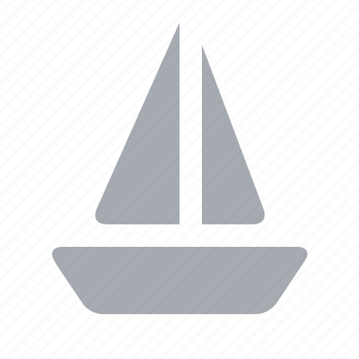 boat, holiday, sailing, sea, travel, water sport icon