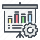 analytics, board, chart, graph, settings, statistics, stats icon