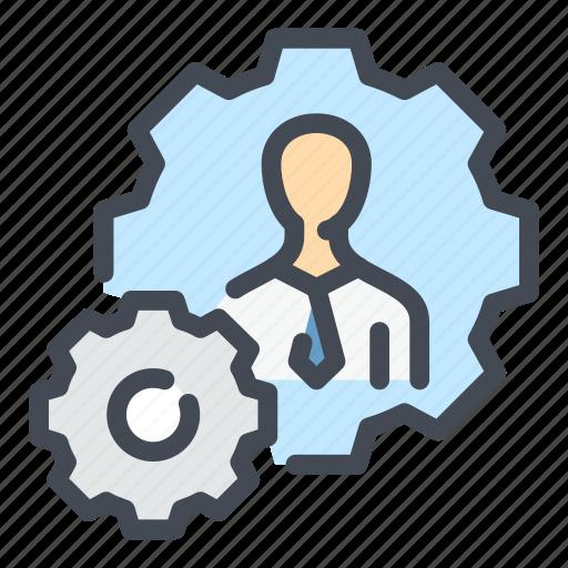 employee, man, people, person, profile, skill, skills icon