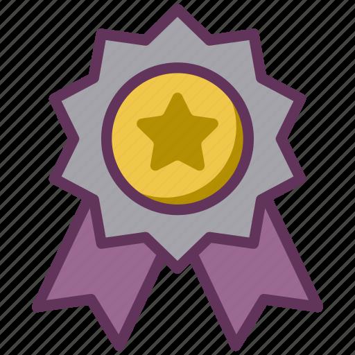 Prize, winner, award, seal, reward, badge icon - Download