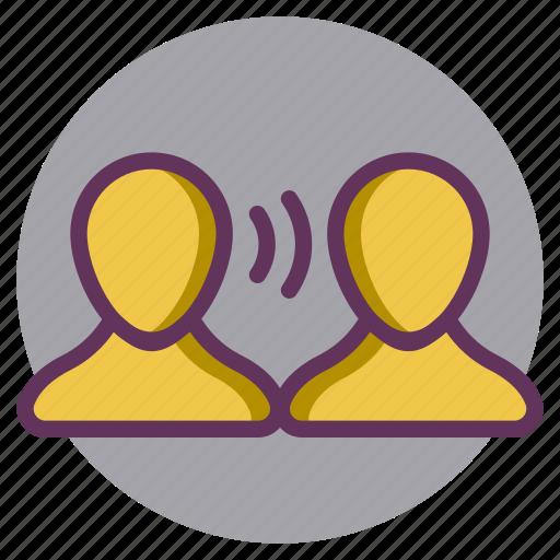 Chat, communication, conversation, interview, speak, talk icon - Download on Iconfinder
