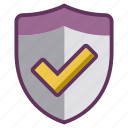 authentication, firewall, internet, password, safety, security, shield icon