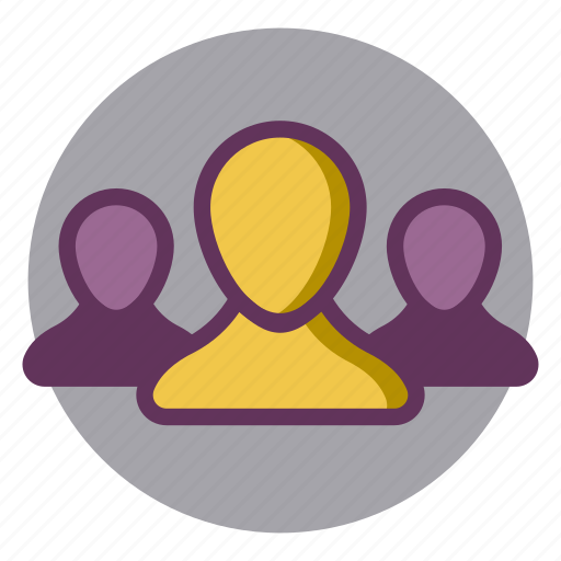 candidates, employees, selection, staff, users icon