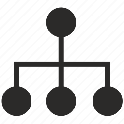 cable, hub, nodes, port icon