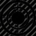 aim, arrow, bullseye, center, game, goal, point, security, target icon
