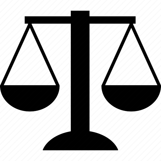 balance, compare, court, femida, government, judge, justice, law, laws, lawyer, legal, measure, measurement, rule, scale, scales, themida, themis, unbalance, weight icon