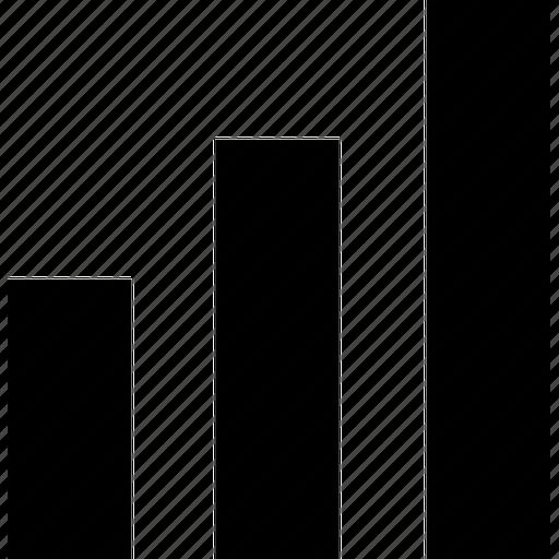 bar, chart, charts, draw, graph, line, statistics, stock icon | Icon ...