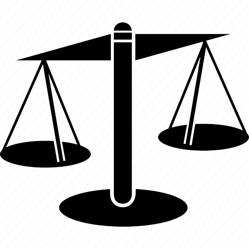 balance, heavy, justice, kg, law, lawyer, mass, pound, scales, standard, tribunale, weight icon