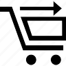 basket, business, buy, cart, cash, check, check out cart, ecommerce, money, ok, out, sell, shipping, shopping, webshop icon