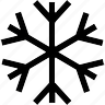 christmas, cold, frost, ice, new, snow, winter, year icon