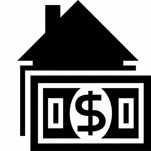 estate, home, house, money, price, real, rent, tax icon