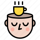 calm, mind, significance, strength icon