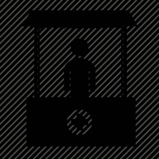 Hospital, medical, medical center, medical shop, medical stand, medical store, pharmacy icon - Download on Iconfinder